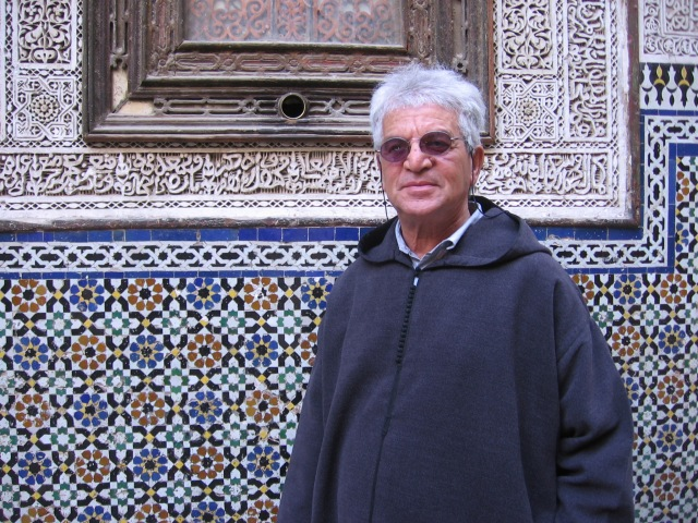 Our guide, Abdullah at the mausoleum of Moulay Idriss 2